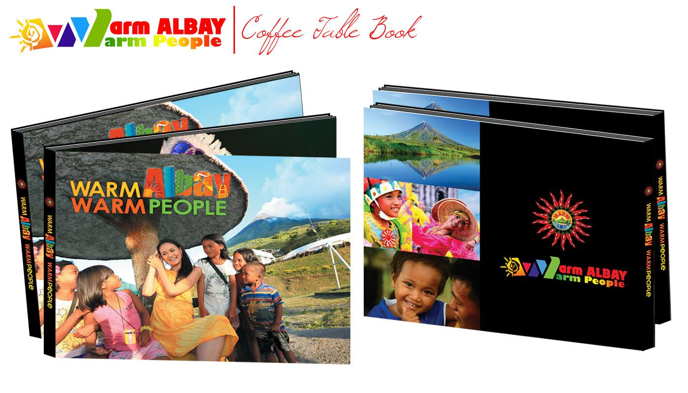 warm albay coffee table book